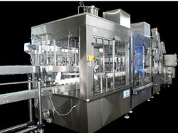 Линия розлива в бутылку с производительность до 12 000 бут/час