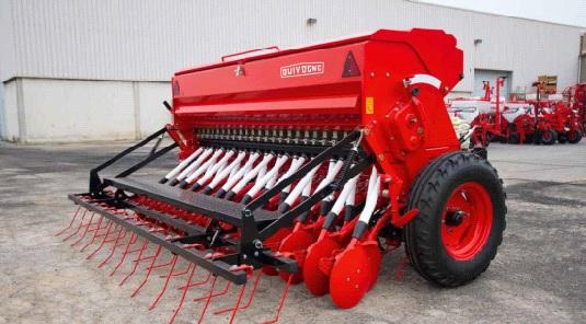 Зерновая механическая сеялка